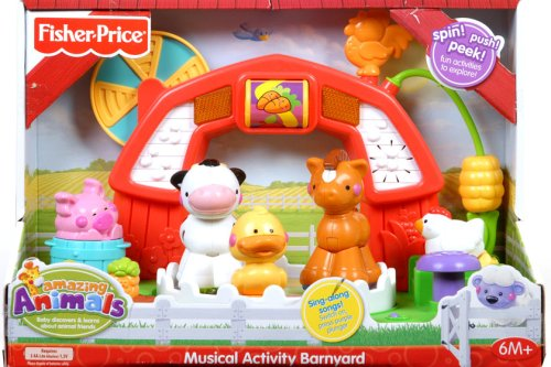 Fisher-Price Sing-Along Activity Barn