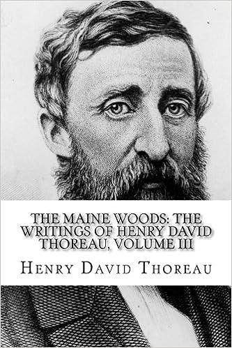 The Maine Woods : The Writings of Henry David Thoreau