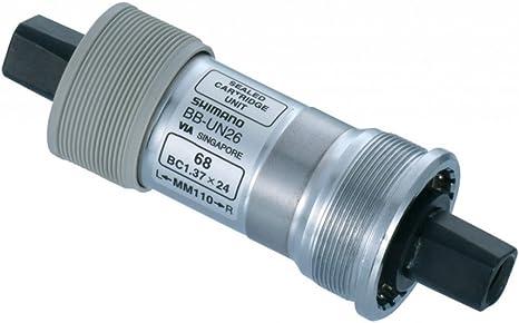SHIMANO Eje Pedalier Compacto 68/117,5 mm BB de un 26 4 Cantos ...