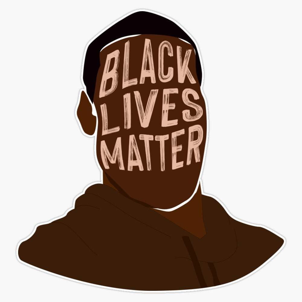 Black Lives Matter George Floyd Vinyl Sticker Decal