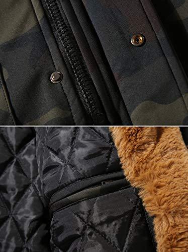 Homme Windproof En Multi camo Men Militaires Plein Cargo poche Coat Hiver À Coupe vent Winter 003 Capuche Style Classique Air Chaud Manteau Z6m6 Veste qYfwWaxaOd