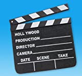 7'' x 8'' MOVIE CLAP BOARD, Case of 144