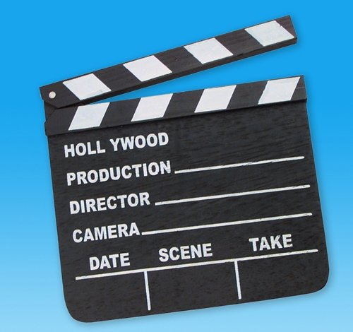 7'' x 8'' MOVIE CLAP BOARD, Case of 144 by DollarItemDirect