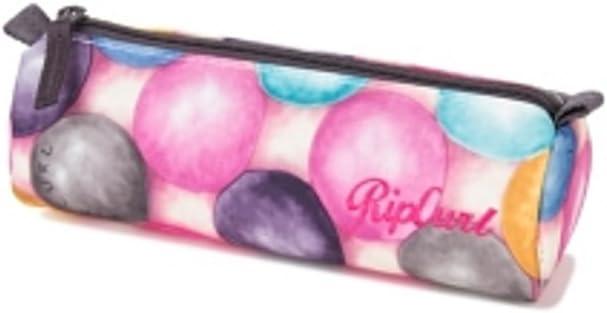 RIP CURL Bubble Pencil Case Estuche de Un Compartimento con Cierre de Cremallera, Color Rosa: Amazon.es: Deportes y aire libre