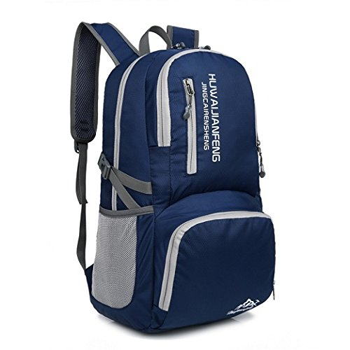 5c7d7b3a3b Galleon - Hiking Backpack Waterproof Nylon For Outdoor Sport Camping Travel  Hiking Daypack Trekking Camping Climbing Mountain Rucksack (Dark Blue-35L)