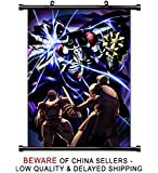 Overlord Anime Fabric Wall Scroll Poster (16 x 22) Inches