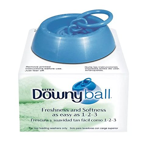 removal with downy fabric softener