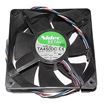 NIDEC Fan TA450DC B35502-35 Dell 0D8794 D8794: Amazon co uk: Electronics