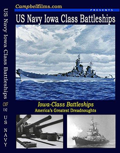 (Iowa Class Battleships BB-62 BB-63 New Jersey Missouri Navy old Films WW2 Korea Vietnam DVD)