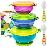 BEST SUCTION BABY BOWLS FOR TODDLERS-Toddler Bowls Baby...