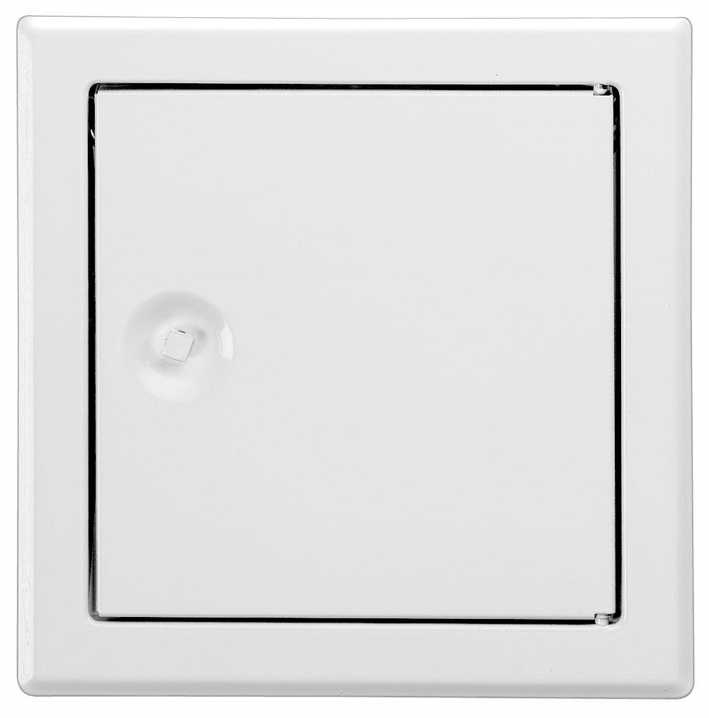 Upmann Softline Revi Door Sv 400x400–RAL9016Square Clasp, 20528