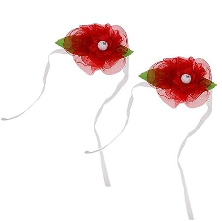 baoblaze par abrazaderas de cortinas de flor corbata de Store ...
