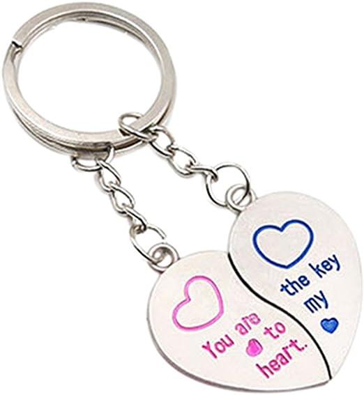 Uncle Love Hearts I Heart Love Keychain Key Ring