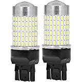 LED Bulbs 144-EX Chipsets 7440 7441 7443 7444 992 with Projector For Backup Reverse Lights,1200 Lumens Extremely Bright Xenon White Set of 2