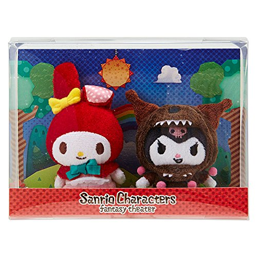 [Sanrio Sanrio Characters Fantasy Theater diorama mascot Little Red Riding Hood From Japan New] (Images Of Little Red Riding Hood Costume)