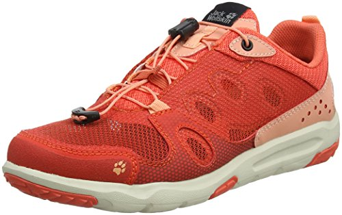 Jack Wolfskin Women's Monterey Air Low W Cross Trainers Orange (Hot Coral 2043) UFlYs5ta0I