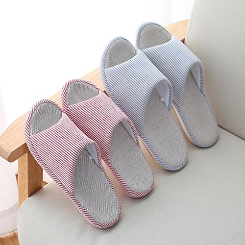 VWU - Zapatillas de estar por casa para mujer Azul