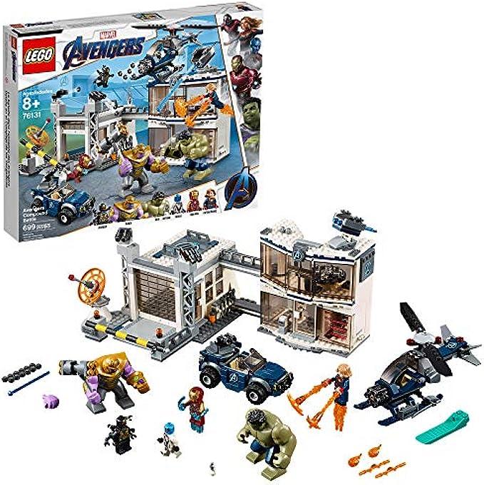LEGO הנוקמים Compound Battle 76131