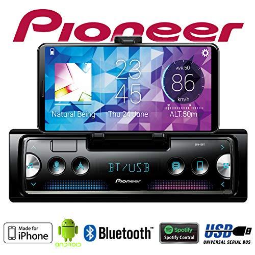 Autoradio Radio Pioneer SPH-10BT 4x50Watt Einbauzubeh/ör Mercedes SLK R170 Einbauset Android Smartphone Empf/änger mit Bluetooth iPhone Spotify