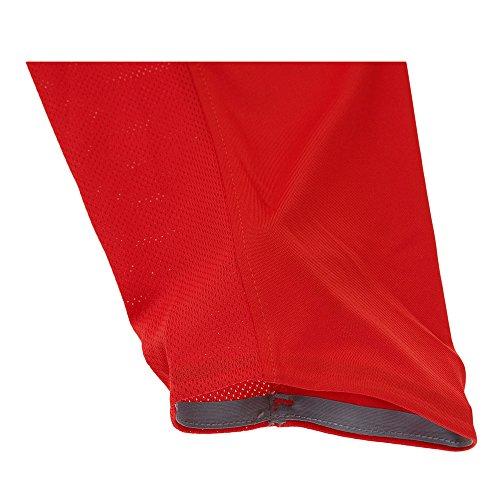 Maglia da uomo con cappuccio pullover Nike Mens Dry Elite University Rosso / Nero 776123-657 Taglia X-Large