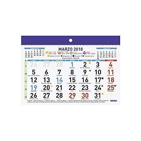 Calendario Parete.Calendario Parete Finocam Numeri Grandi F93 21 X 30 Cm