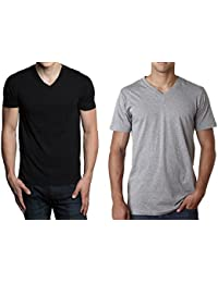 Hanes mens TAGLESS ComfortSoft V-Neck Undershirts, 6-Pack