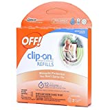 10 clip fan - Off! Clip-On Refills, 2 Count Refill (Pack of 5), 10 Total Refills