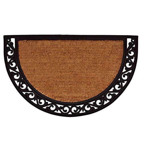 (Calloway Mills 100102436NP Ornate Scroll Doormat, 2' x 3', Natural/Black)