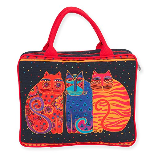 laurel-burch-feline-friends-cosmetic-travel-tote-feline-friends