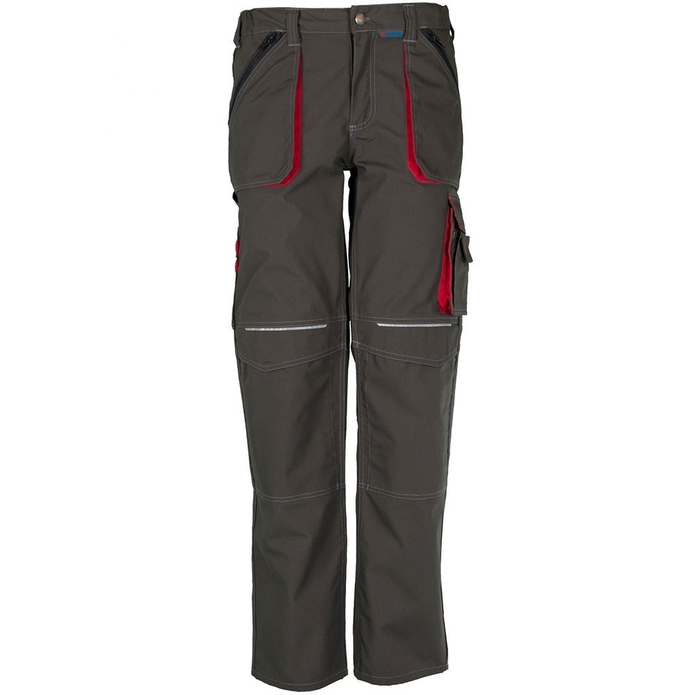 Basalto vestiti pantaloni da lavoro blu/rosso Planam 2820