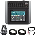 "Behringer X AIR (X18) Compact 18ch 12-Bus Digital Mixer for Tablets + Pro DJ Bundle Includes, Professional Monitor Headphones, 1/8"" TRS Male to Two 1/4"" TS Male Cable & 2x XLR Cable from Behringer"
