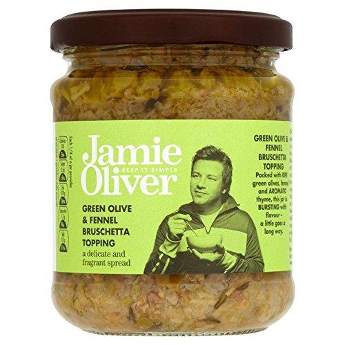 Jamie Oliver Green Olive & Fennel Bruschetta Topping - 180g