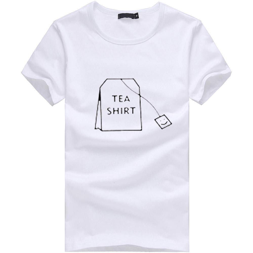 feiXIANG Maglietta per Uomo T-Shirt con Stampa Divertenti Maglia a Maniche Corta Estate Camicie Sportive Maglie a Manica Corta Magliette da Escursionismo Regalo Termica TopCasual