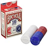 Bicycle 1006252 Bicycle Poker Chips 100 Count