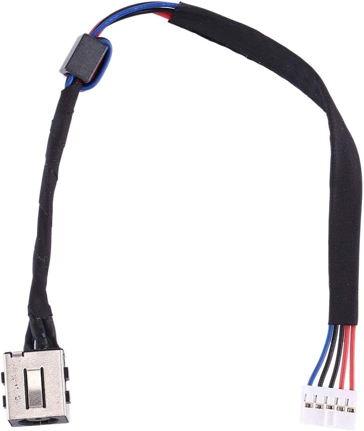 LIYE DC Power Jack Connector Flex Cable for Dell Inspiron 15//5547 M03W3 5545//5548 5543