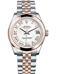 Lady Datejust 31 Steel Rose Gold watch White dial 178241. Rolex