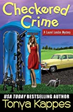 Checkered Crime : A Cozy Mystery (A Laurel London Mystery Series Book One)