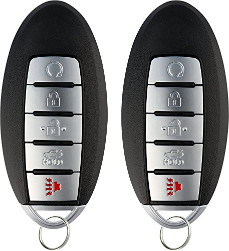 KeylessOption Keyless Entry Remote Control Car Smart Key Fob Replacement for Altima KR5S180144014