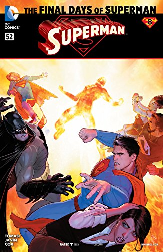 Superman (2011-2016) #52 (Superman And Wonder Woman New 52 Relationship)