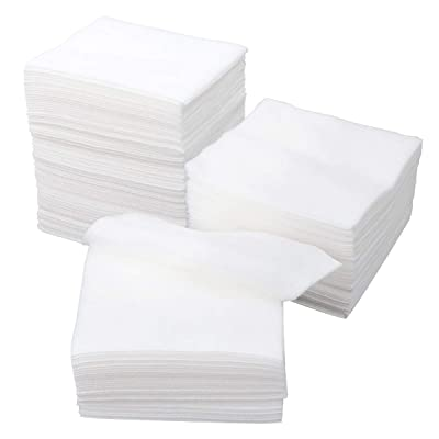 PRETYZOOM 300PCS 4-Ply Non Woven Medical Gauze Pad Non-Sterile Gauze Sponges for Wound Dressing, Prepping, Scrubbing and Cleaning: Toys & Games