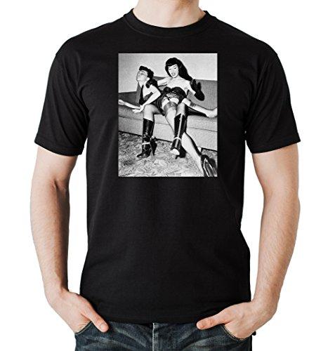 Betty Punisher T-Shirt Nero