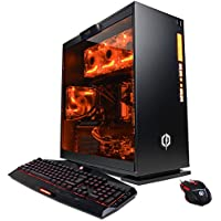 CYBERPOWERPC Gamer Supreme Liquid Cool SLC8520A Desktop Gaming PC (AMD Ryzen 7 1800X 3.6GHz, NVIDIA GTX 1070 8GB, 16GB DDR4 RAM, 2TB 7200RPM HDD, 120GB SSD, WiFi, Win 10 Home, 7 Colors), Black