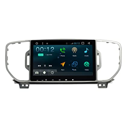 TOPNAVI 8inch 1024*600 Android 4.4.4 car multimedia player ...