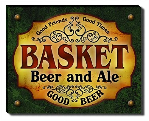 ZuWEE Basket Family Beer and Ale Gallery Wrapped Canvas Print