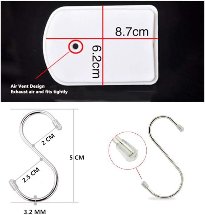 barra de acero inoxidable cepillado ajustable OAKNO barra telesc/ópica extensible para cortina de ducha barra para colgar en el armario de ba/ño 90-60cm