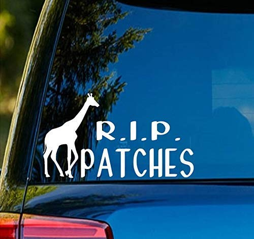 R.I.P Patches Decal SD322
