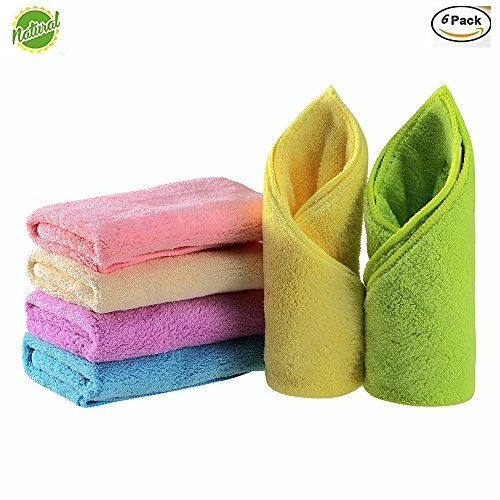 Baby Face Towels Set Microfiber Quick Drying Baby Hand Towel