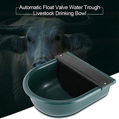 GOTOTOP Automatic Water Bowl with Drainage Hole for Dog Cattle Horse Float Valve Sheep Goat Calf Sow Large Animal Water by GOTOTOP (Image #5)