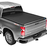 "Lund Genesis Tri-Fold, Soft Folding Truck Bed Tonneau Cover | 950120 | Fits 2014 - 2020 Toyota Tundra w/track system 5' 5"" Bed"