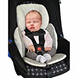Vine Baby Body Support Compliance Reversible Car Seat Stroller Cushions Pad(Gray)